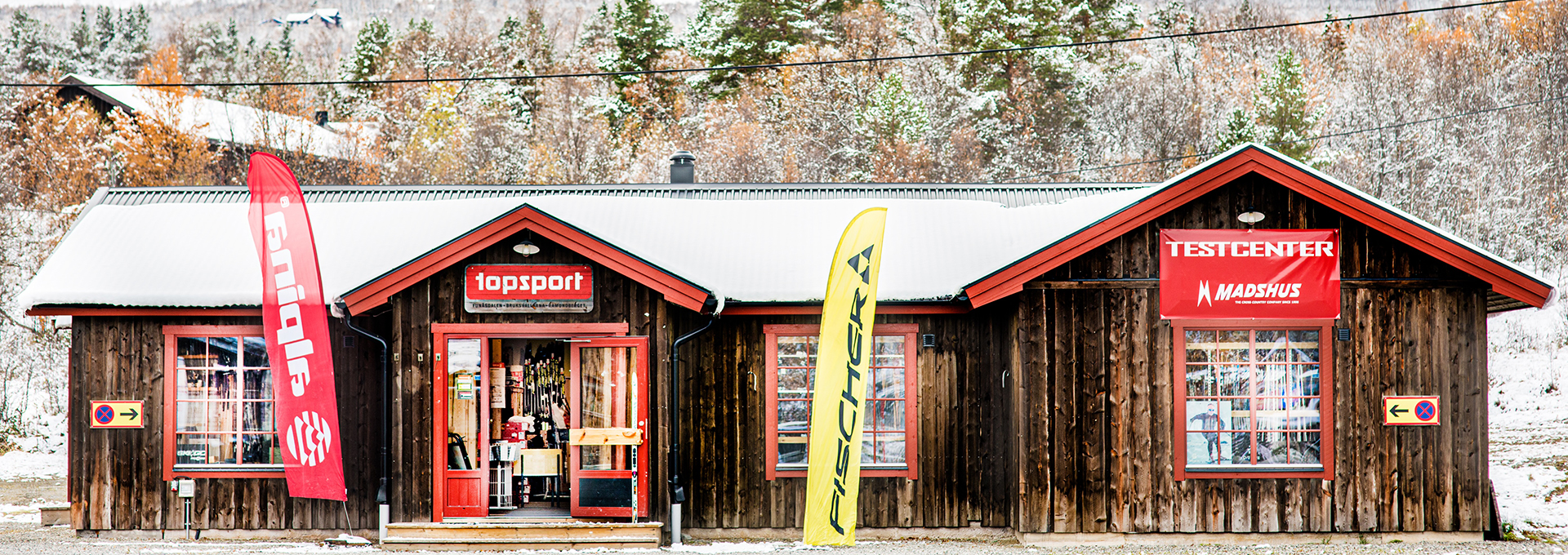 Topsport sports shop in Bruksvallarna